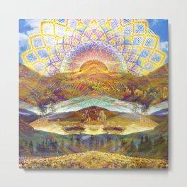 Rainbow Valley Metal Print