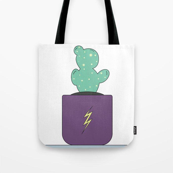 Daryl the Adventure Cactus Tote Bag