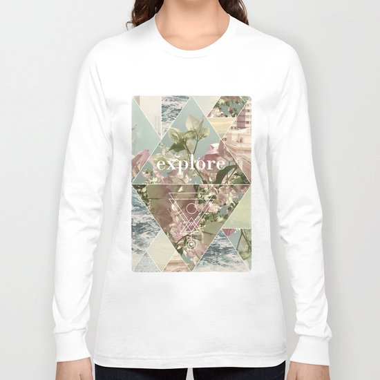 Explore - II Long Sleeve T-shirt