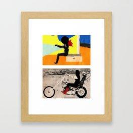 Run to me Framed Art Print