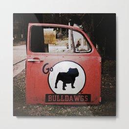 Go Bulldawgs Metal Print