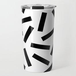 Modern Memphis Pattern Travel Mug