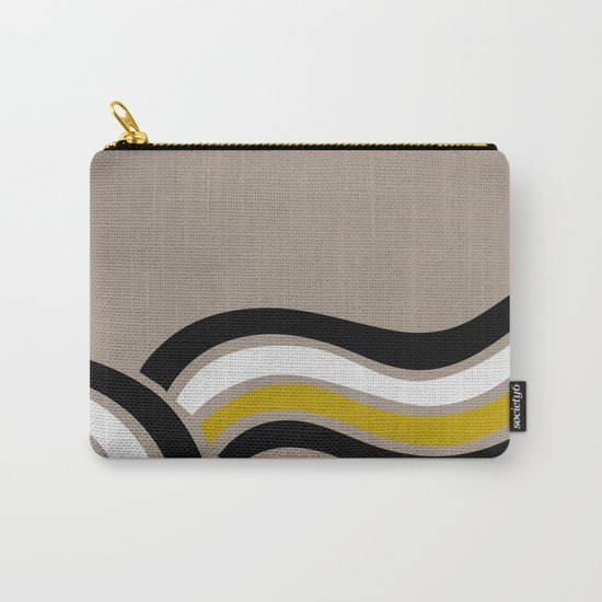 WAVES 2# ABSTRACT Carry-All Pouch