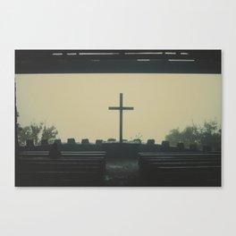 Symmes Chapel. Canvas Print