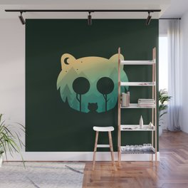 Two Little Bears Wall Mural