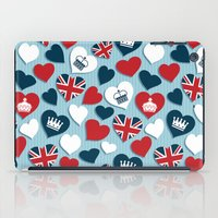 uk iPad Cases featuring UK Hearts by Matt Andrews