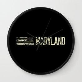 Black Flag: Maryland Wall Clock