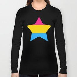 Pan* Pride Star Long Sleeve T-shirt