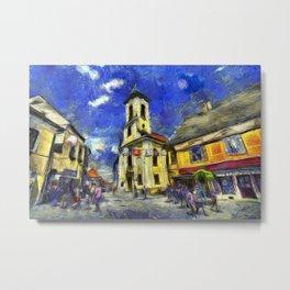 Szentendre Hungary Van Gogh Metal Print