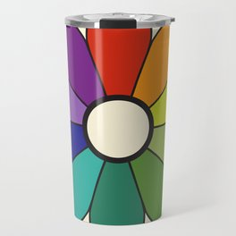 James Ward's Chromatic Circle 1903 (no background; interpretation) Travel Mug