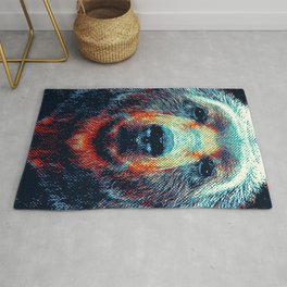 Bear - Colorful Animals Rug