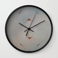 arrow Wall Clocks featuring Arrow by Miamaria Oedegaard