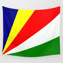 Flag of Seychelles Wall Tapestry
