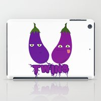 twins iPad Cases featuring Twins by flydesign
