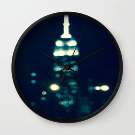 NYC Empire State  Wall Clock