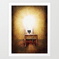 The Seat of Big Ideas Art Print