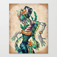 Canvas Prints featuring Dance of the Dead by Tim Shumate