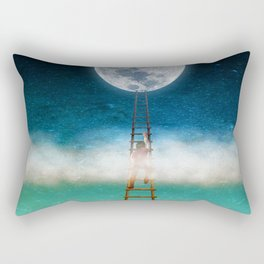 Reach for the Moon Rectangular Pillow