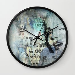 Goodbye Maryline Wall Clock