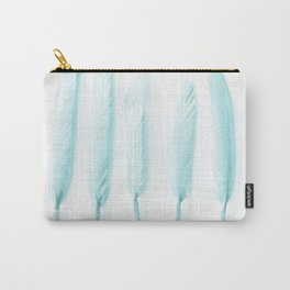 Pale Feathers II Carry-All Pouch