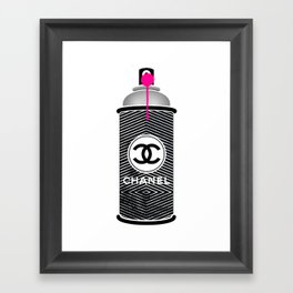 Spray 02 Framed Art Print