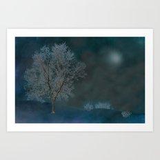 Midnight dream Art Print