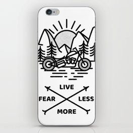 Live More iPhone Skin