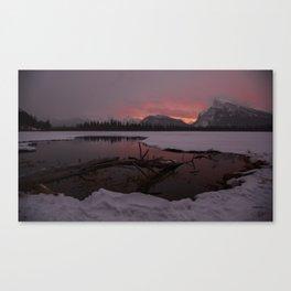 Vermillion Sunrise Two Canvas Print