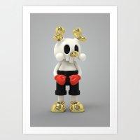 Blink Blink Kranyus Art Print
