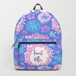 Feminist Killjoy - Beautiful Floral Print Backpack