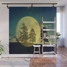 Landscape with trees Wall Mural