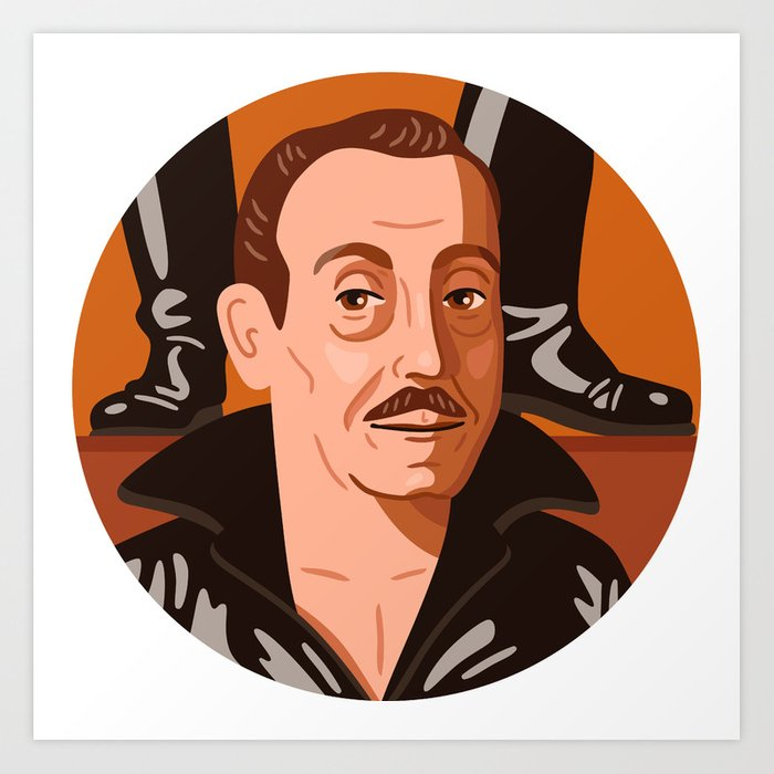 Queer Portrait - Tom of Finland Art Print