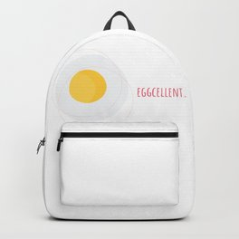 Eggs Eggcellent Food Gift Idea Backpack