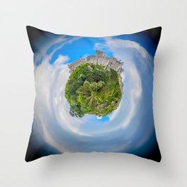 St Michael's Mount Planet Throw Pillow