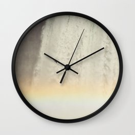 Bird and Rainbow at Niagra Falls Wall Clock