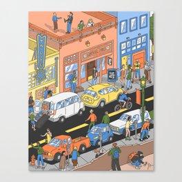 Deep Ellum, TX Canvas Print