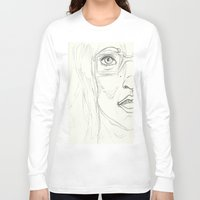 glasses Long Sleeve T-shirts featuring Glasses by writingoverashes