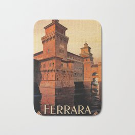 Castello Estense Ferrara Italy Bath Mat