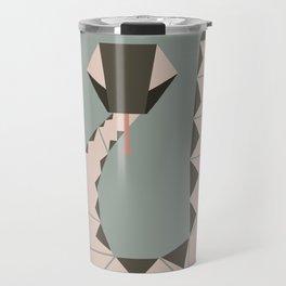 The geometric forest series - snake Travel Mug