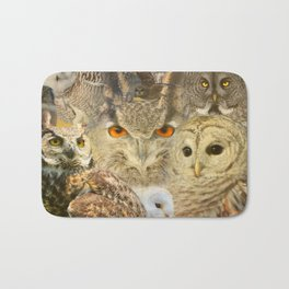 OWL you need is LOVE Bath Mat