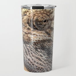 Chameleon With Sinister Facial Expression Travel Mug