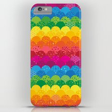 Waves of Rainbows iPhone 6 Plus Slim Case