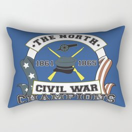American Civil War Champions - Northern Pride - The Union - Parody Shirt Rectangular Pillow