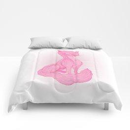 pink Cat Comforters