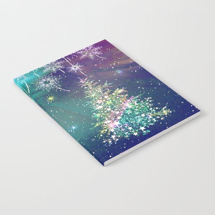 Winter Design QR Notebook