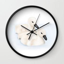 Cygnets Wall Clock