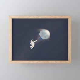 Flying Framed Mini Art Print