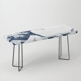 The Great Wave - Halftone Bench