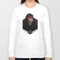 darth Long Sleeve T-shirts featuring Darth Darth Binks by Mathijs Vissers