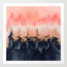 Abstract Wilderness Art Print
